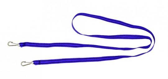 Rodelziehband breit mit Karabiner
